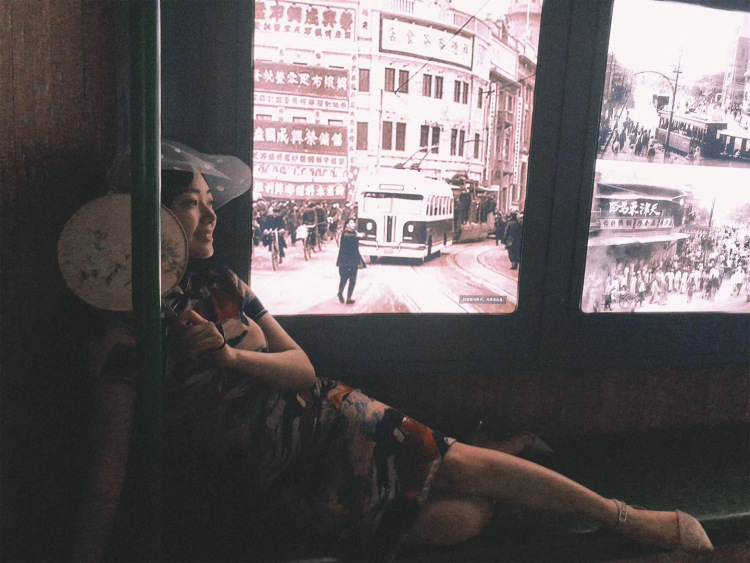 民国物语博物馆-天津市·天津市·和平区-每个女孩子都应该穿一次旗袍 民国女子 明丽婉约 这里环境很还原民国时期 人流量挺大的 但是服饰很好看 还可以做民国发型